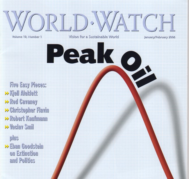 Have Concerns Over Peak Oil Peaked? : Collide-a-Scape